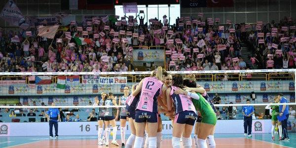 Volley, Champions League: Casalmaggiore è in finale! Battuta la Dinamo Kazan