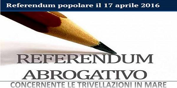 Referendum del 17 aprile, ecco come votare | I seggi rimarranno aperti dalle 7 alle 23