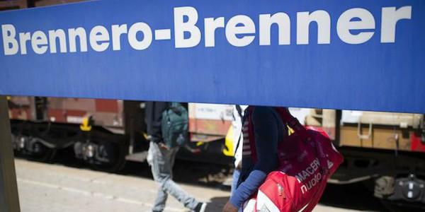 italia contro austria, migranti Austria, militari brennero, soldati austria brennero, soldati brennero