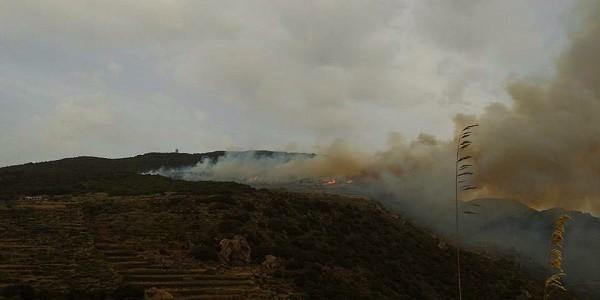 Ancora in fiamme il bosco di Pantelleria, in azione tre Canadair