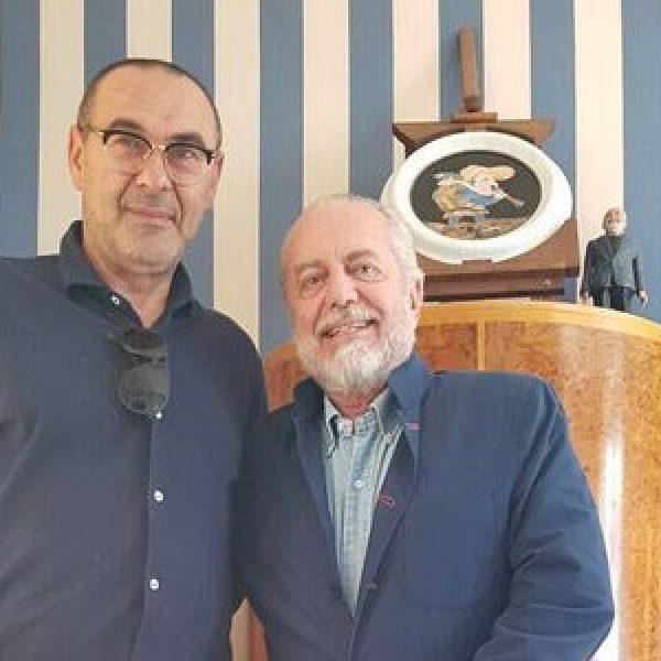 Sarri, De Laurentis, Napoli, Monaco