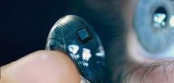 smart lens, lente a contatto intelligente, fotografare con un battito di ciglia