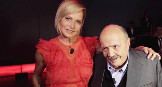 """Maurizio Costanzo Show, Simona Ventura: """"Cerco un ponte col mio ex marito perché abbiamo due figli""""/ VIDEO"""