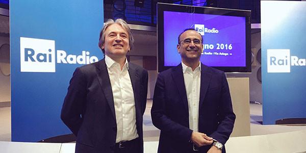 Carlo Conti è il nuovo direttore artistico della radio pubblica italiana