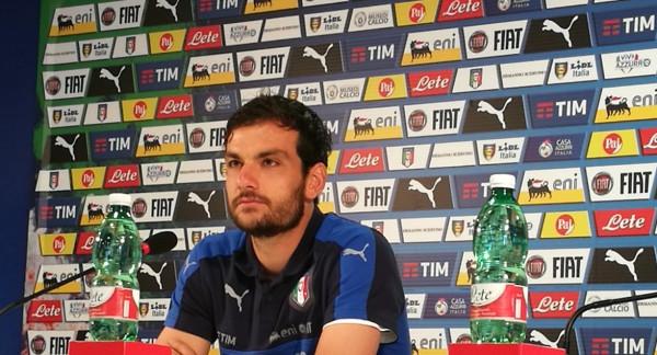 """Nazionale, Parolo: """"Guai ad abbassare la tensione""""  Paragone con Tardelli: """"Per me è un onore"""""""
