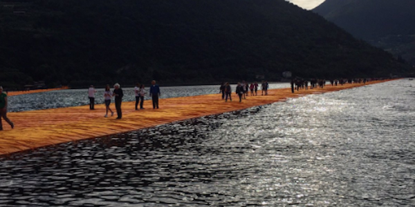 """The Floating Piers"", l'installazione di Christo diventa un film"