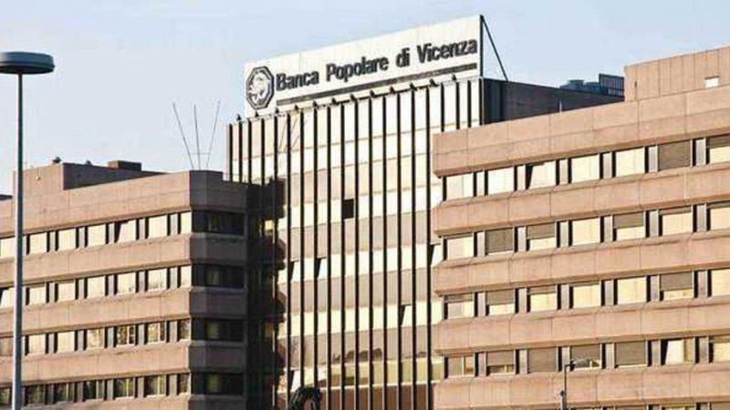 Popolare di Vicenza, sequestro preventivo da 106 milioni