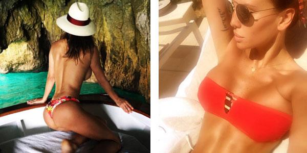 """Vacanze di lusso per Claudia Galanti, i fan la criticano: """"In tv piangevi miseria"""""""