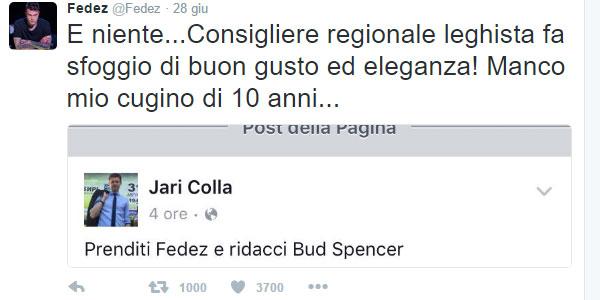 Prenditi Fedez e ridacci Bud Spencer