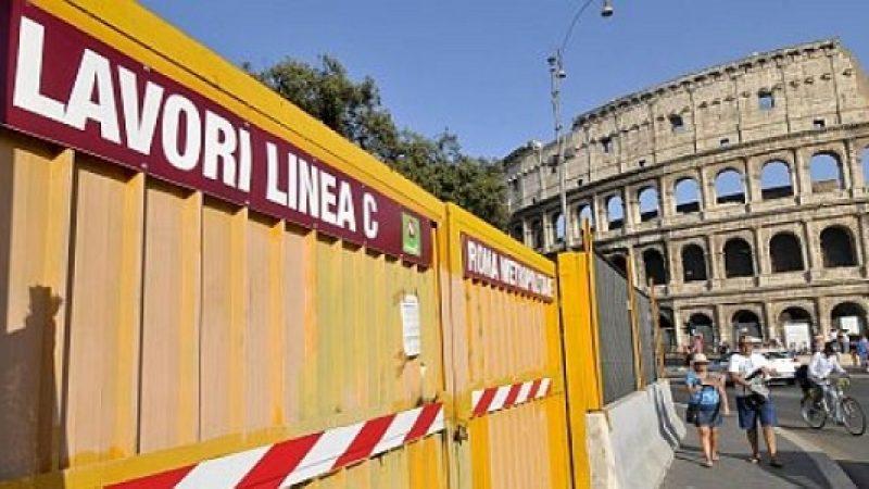 Metro C di Roma: 25 indagati per truffa, corruzione e falso