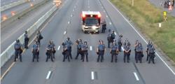 corteo antirazzista Dallas, manifestazione dallas, scontri dallas, scontri neonazisti dallas, suprematisti bianchi