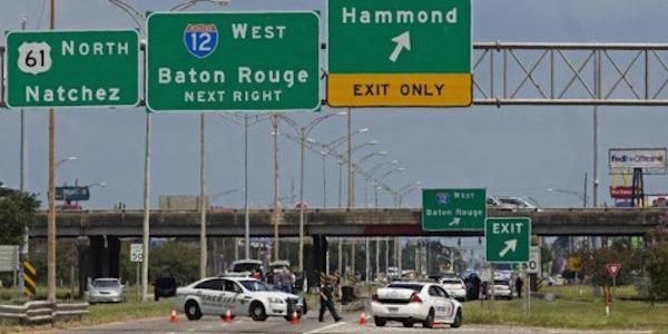 Sparatoria in Louisiana, morti tre agenti | Ucciso il killer, era un ex marine nero