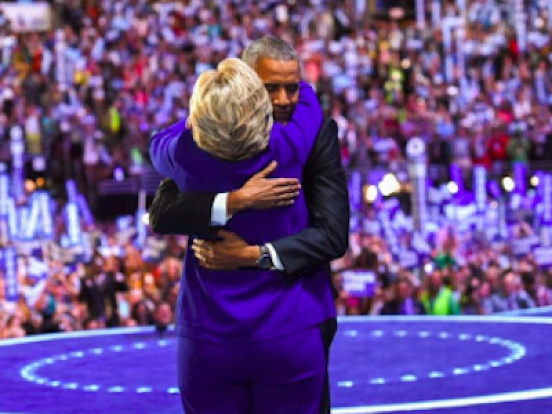 Barack obama, convention Democratica, convention Philadelphia, elezioni usa, hillary clinton, obama, Obama incorona la Clinton, primarie usa, Usa, usa 2016