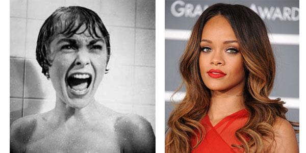 """Rihanna nella serie tv """"Bates Motel"""" rifarà la famosa scena della doccia di """"Psyco"""" /VIDEO"""