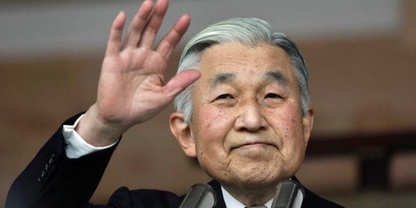 Giappone, l'imperatore Akihito abdicherà nel 2019 | È la prima volta che accade in 200 anni di storia