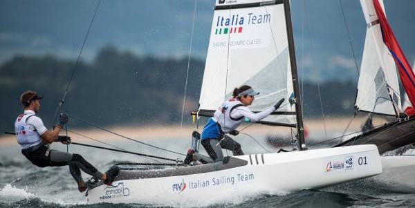 Rio 2016, vela: Bissaro Sicouri quinti nel nacra 17 misto. Altra medaglia sfumata per l'Italia in medal race