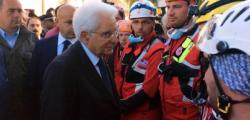 Mattarella, Mattarella incontra sindaci terremoto, Matteralla sima, sergio mattarella, sisma, terremoto macerata