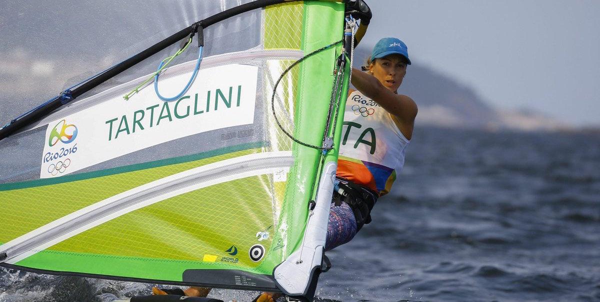 Rio 2016, Vela: Flavia Tartaglini in testa alla RS:X. Bissaro – Sicouri terzi nel Nacra 17 misto