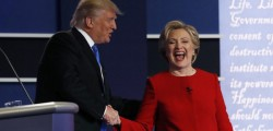 Clinton Trump primo dibattito