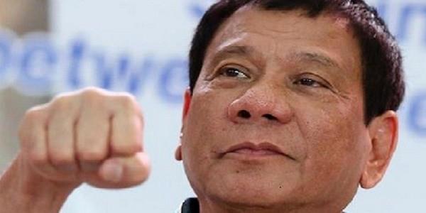Presidente Filippine choc: