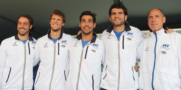 Finali Coppa Davis, sorteggiati i gironi: Italia con USA e Canada