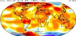 Nasa allarme caldo clima