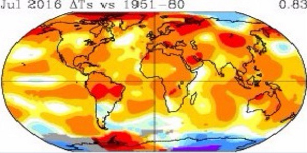 Nasa, allarme clima: riscaldamento globale mette a rischio il pianeta