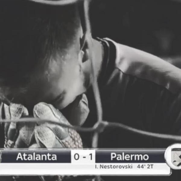 Serie A, le esultanze dei giocatori del Palermo / FOTO