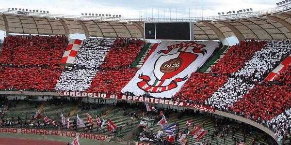 Serie B, il Benevento umilia il Bari, 4-0 al San Nicola