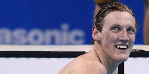 Mack Horton, il campione di nuoto salvato da un fan