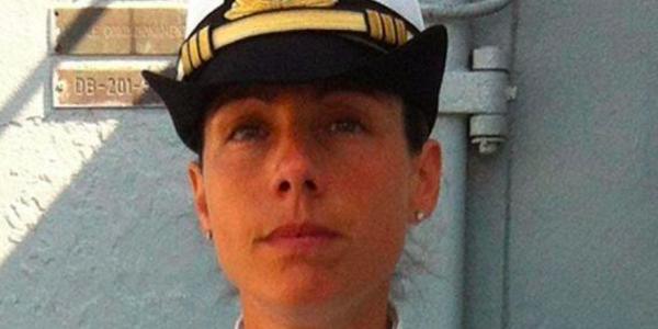 Catia Pellegrino, la comandante-eroina, indagata per la morte di 286 migranti