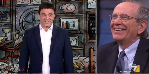 Maurizio Crozza a DiMartedì dell'11 ottobre 2016