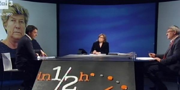 Tra Renzi e Landini il confronto diventa scontro in tv