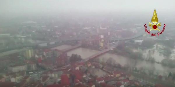 Terminata l'emergenza in Piemonte, 200 evacuati a Moncalieri