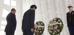 Abe e Obama al Memorial di Pearl Harbor