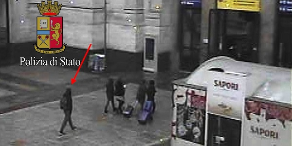 Arrestato per frode l'uomo che cenò con Amri |L'attentatore è stato rinnegato dalla famiglia