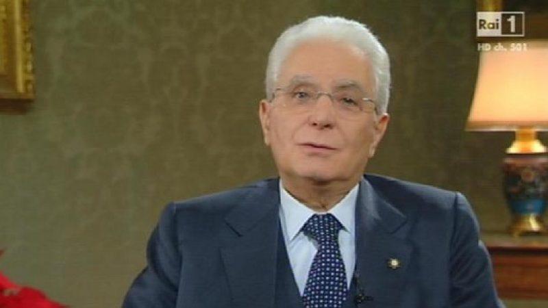 """Mattarella lancia un appello in vista delle elezioni   """"Sono da affrontare con fiduciosa serenità"""""""