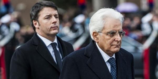 Matteo Renzi va al Colle e rassegna le dimissioni|Da domani Mattarella darà il via alle consultazioni
