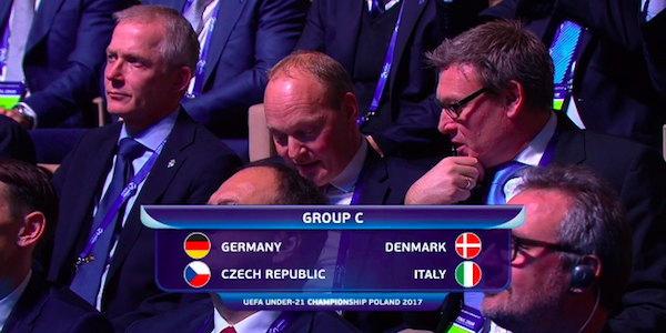 Sorteggi Europei Under-21: Italia contro la Germania