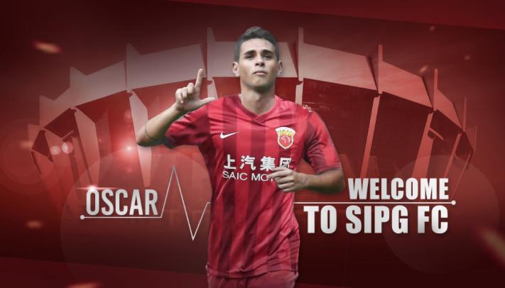 Ufficiale il trasferimento di Oscar allo Shanghai Sipg: al Chelsea vanno 60 milioni di sterline