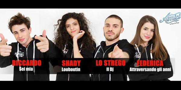 Amici 16, puntata 16 dicembre 2016: parte la gara di inediti tra Riccardo, Lo Strego, Federica e Shady