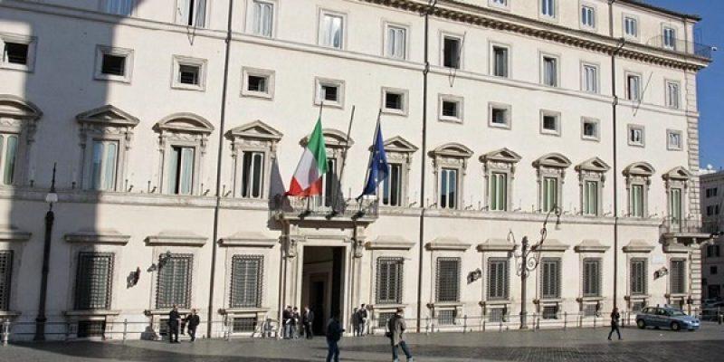 """Palazzo Chigi: """"Avanti su stabilità e calo debiti"""""""