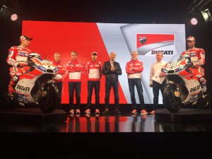 Motogp, presentata la Ducati Desmosedici 2017/FOTO