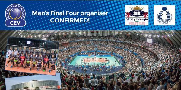 Volley, la Champions League sbarca a Roma: Perugia organizzerà la final four!
