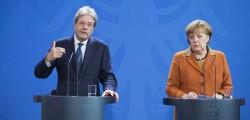 Gentiloni Merkel