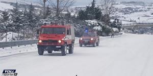 Emergenza maltempo, disagi al centro nord | Neve su Torino e Milano, vento forte in Sicilia