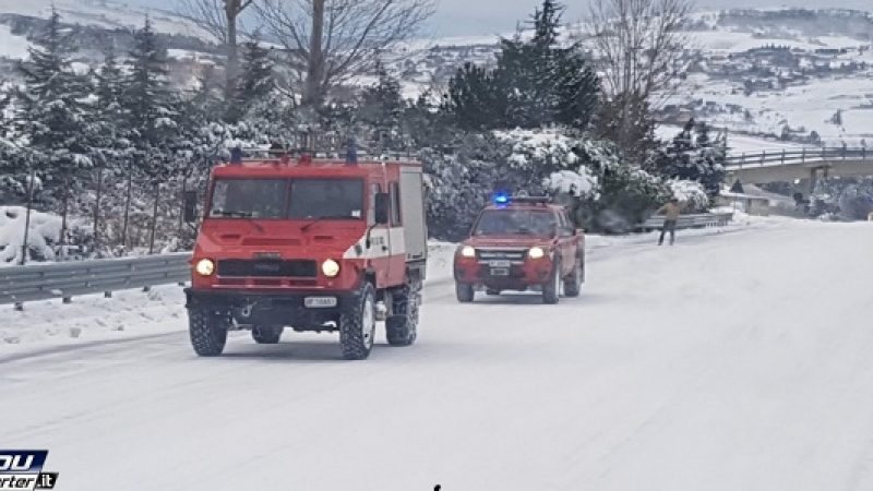 Maltempo, zone terremotate in ginocchio | In Abruzzo scende in campo l'Esercito