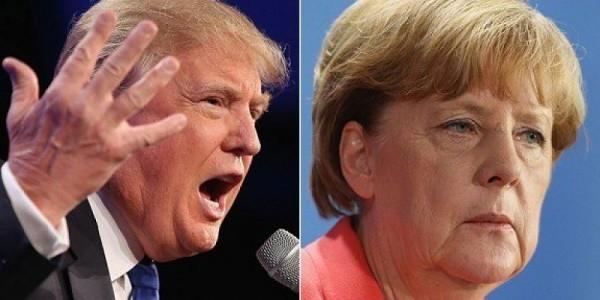Trump - Merkel