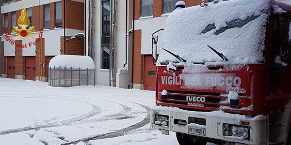 Maltempo in Abruzzo, domani tornano neve e gelo fino a mercoledì