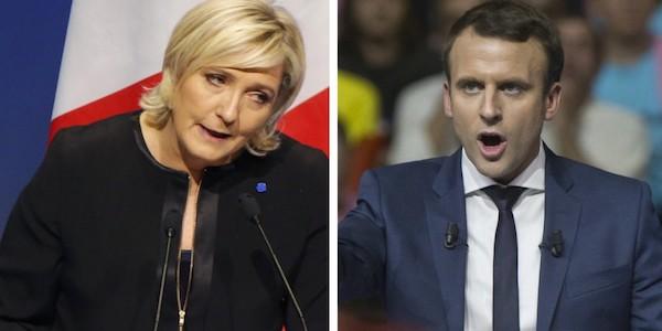 """Elezioni in Francia, ballottaggio Le Pen-Macron  Out socialisti e Repubblicani: """"Votate En Marche!""""  Scontri e disordini a Parigi, fermati 29 studenti"""